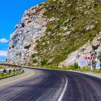 Эх , дороги ...  Чуйский тракт , перевал Чике -Таман . :: Марина Юдинских