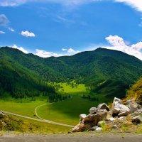 ***  На перевале Чике - Таман , Горный Алтай . :: Марина Юдинских