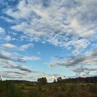 Огромное небо... :: Валентина Харламова