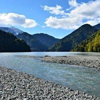 Абхазия. Горная река :: Елена Павлова (Смолова)