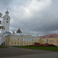 Осень в Новгородском Кремле (этюд 6) :: Константин Жирнов