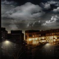 Облака с фонарями :: Кирилл Богомазов