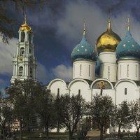 Успенский собор и колокольня Троице-Сергиевой Лавры :: Игорь Егоров