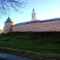 Кремлевская стена на Рассвете :: Алексей Корнеев