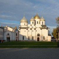 Осень в Новгородском Кремле (этюд 9) :: Константин Жирнов