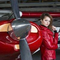 Самолет, девушка... :: Юлия Шабеева