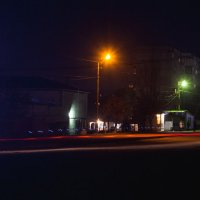 Ночная остановка :: Никита Костенко