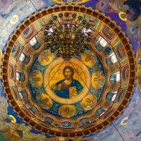 Роспись купола Собора Святой Троицы. :: Elena Izotova