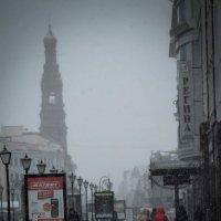 Осенний снег. :: Евгения Кирильченко