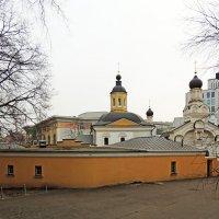 Москва. Церковь Николая Чудотворца в Дербеневе. :: Александр Качалин