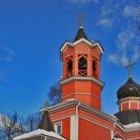Церковь Георгия Победоносца в Новосёлках :: Дмитрий Анцыферов
