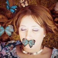 в плену бабочек :: ольга солнцева