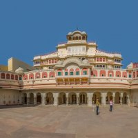 Индия .Действующий дворец ныне здравствующего падишаха. :: юрий макаров