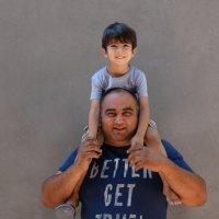 Мой папа самый сильный! :: Gudret Aghayev