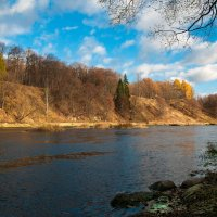 река Руза осенью :: Андрей Куприянов