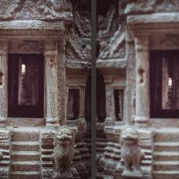 A fragment of the model of Angkor Wat. :: Илья В.