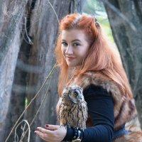в сказочном лесу... :: Райская птица Бородина