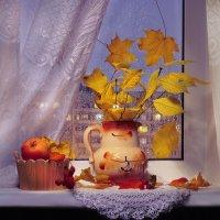 Уютная осень... или всё что осталось от осени... :: Валентина Колова