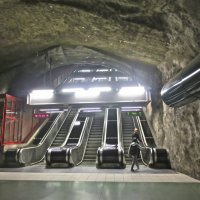 метро в скалах :: Елена