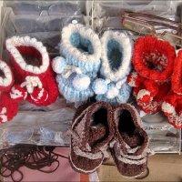 Первая обувка для крошек :: Нина Корешкова