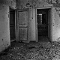 Заброшенные дома, как одинокий, всеми покинутый человек с каким-то недугом.. :: Anna Lipatova