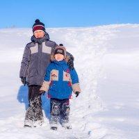 в снегу :: Сергей Сол