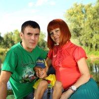 Сергей, Лена и Никита :: Марина Щуцких