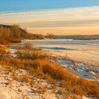 Вечер на реке Томь :: Сергей Винтовкин