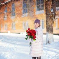 Розы на морозе :: Екатерина Тырышкина