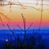 утренние краски над Липецком... :: Алексей Бортновский