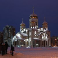 Храм Благовещение :: Александр Алексеев