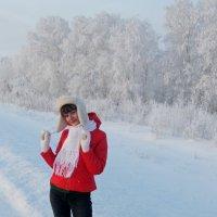 а за городом зима зима зима..... :: Лора Я