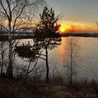 Ноябрьский закат :: sergej-smv