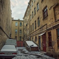 Кто в те улочки попал, заблудился и пропал... :: Ксения Старикова