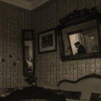 Всё-таки в комнате  кто-то  всегда был... :: Ирина Данилова