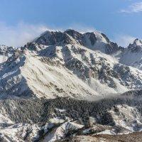 горы. с видом на пик Талгарский :: Горный турист Иван Иванов