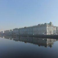 Город в дымке :: Вера Моисеева