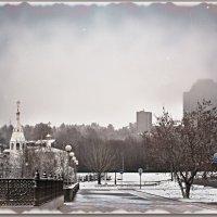 холодный туман... :: Юрий Ефимов