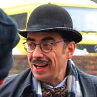 «Эркюль Пуаро» - литературный персонаж Агаты Кристи...3..........(«Встречи в городе Львов») :: Aleks Nikon.ua