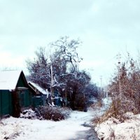 Первый снег :: Владимир Болдырев