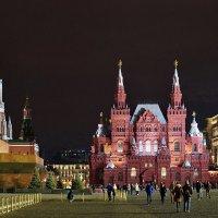 Ночная Москва. :: Юрий Шувалов