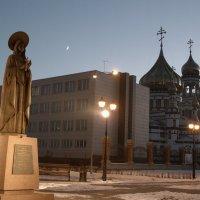 Святая Варвара, покровительница шахтеров :: Нина северянка