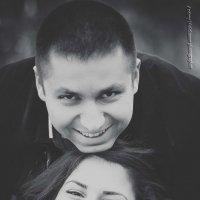 Осення прогулка Армана и Нане :: Андрей Молчанов