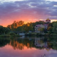 Осенний закат :: Андрей Трифанов