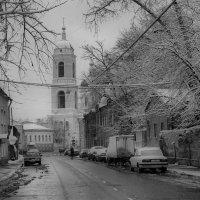 Снег на Станиславского. :: Игорь Федулов