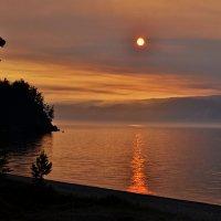 Закат на острове Ольхон :: Маргарита Маргарита