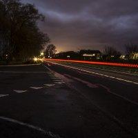 Ночной пейзаж. :: Александр Крылов