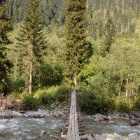 мост над бурной горной речушкой :: Мария Спивак
