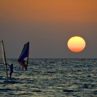 Наперегонки с Солнцем :: Скиталец Сан