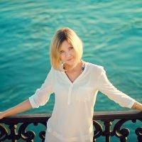 ...глаза цвета моря... :: Мария Колина
